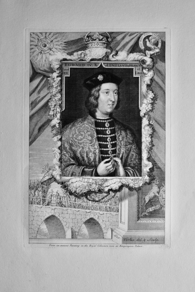 Edward IV. King of England & France, Lord of Ireland.  1736.