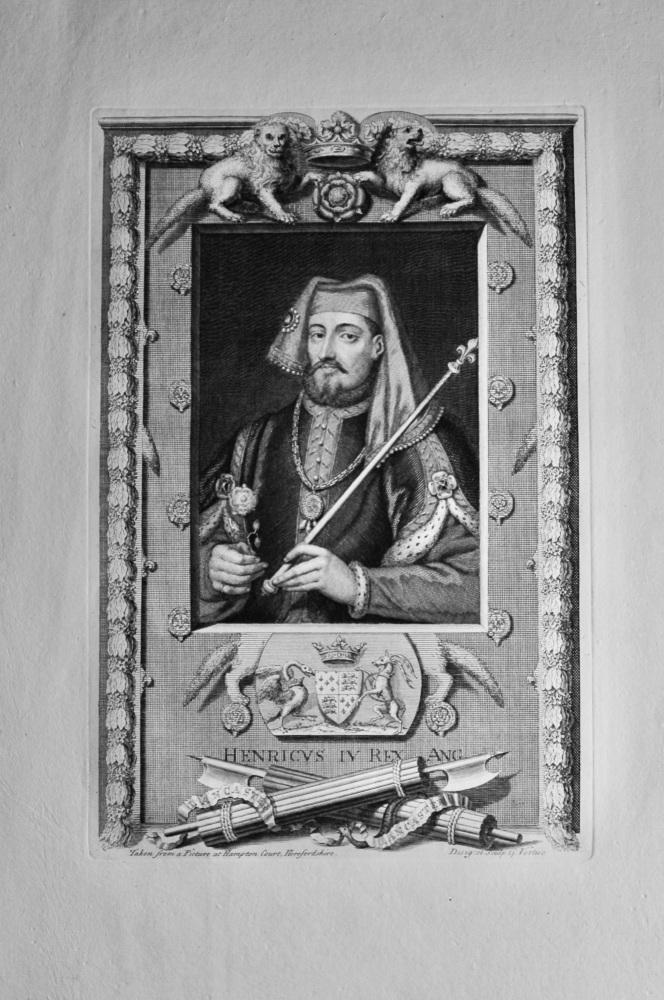 Henricvs  IV  Rex  Ang.  1736.