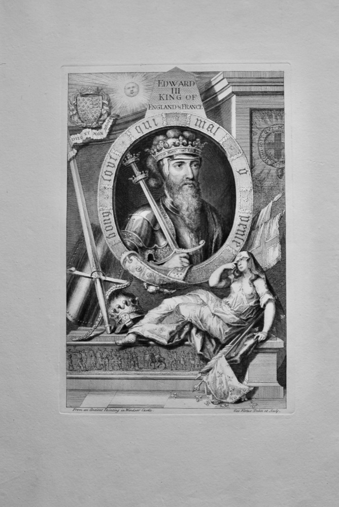 Edward III. King of England & France.  1736.