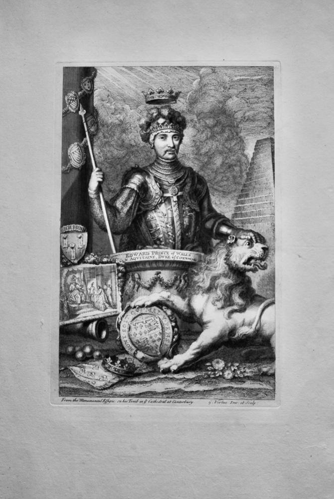 Edward Prince of Wales & Aquitaine, Duke of  Cornwall.   1736.
