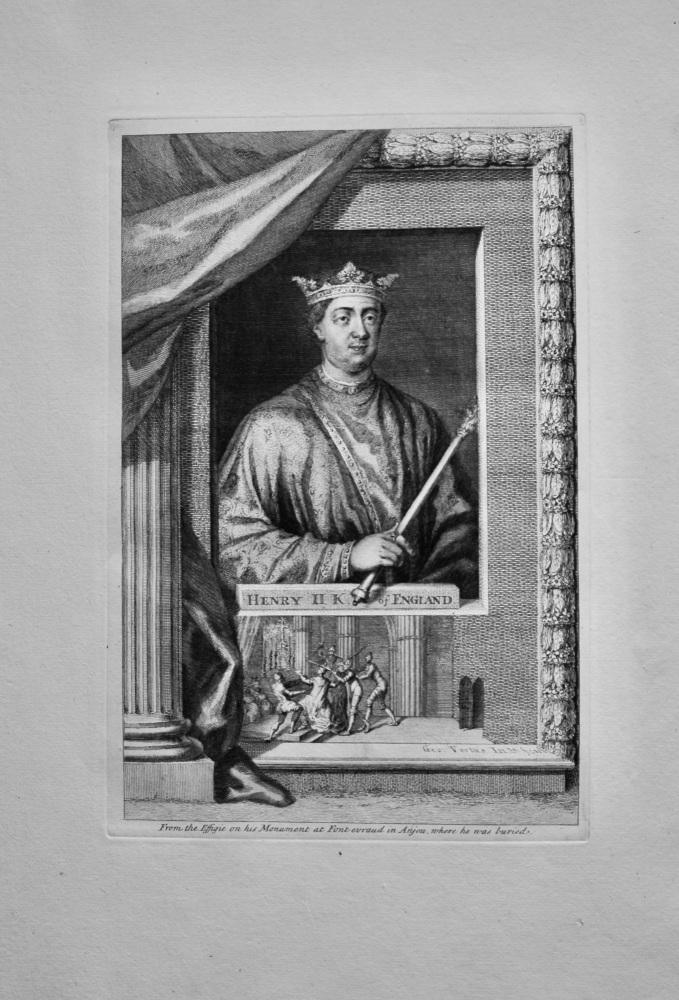 Henry II. King of England.  1736.