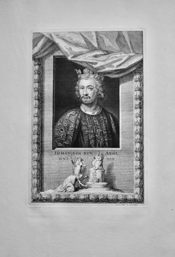 Iohannes Rex Angl  Dns  Hib.   1736.
