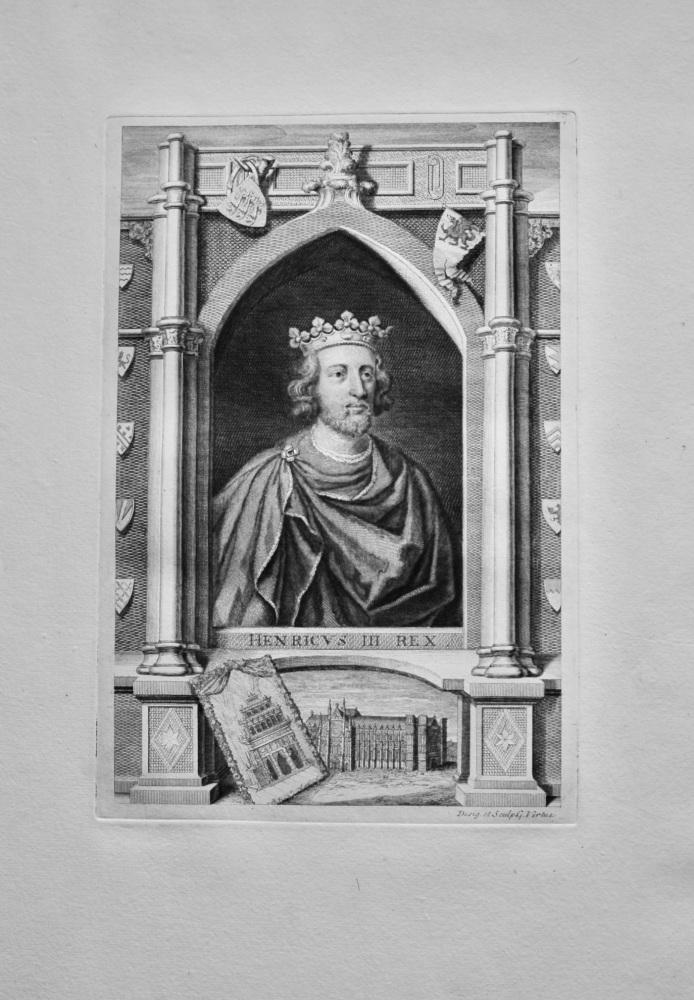 Henricvs  III.  Rex.  (Henry III.)  1736.