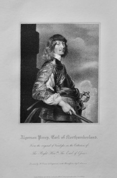 Algernon Perry, Earl of Northumberland.  1821.