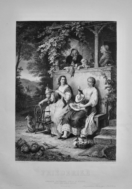 Friederike.  1860c.