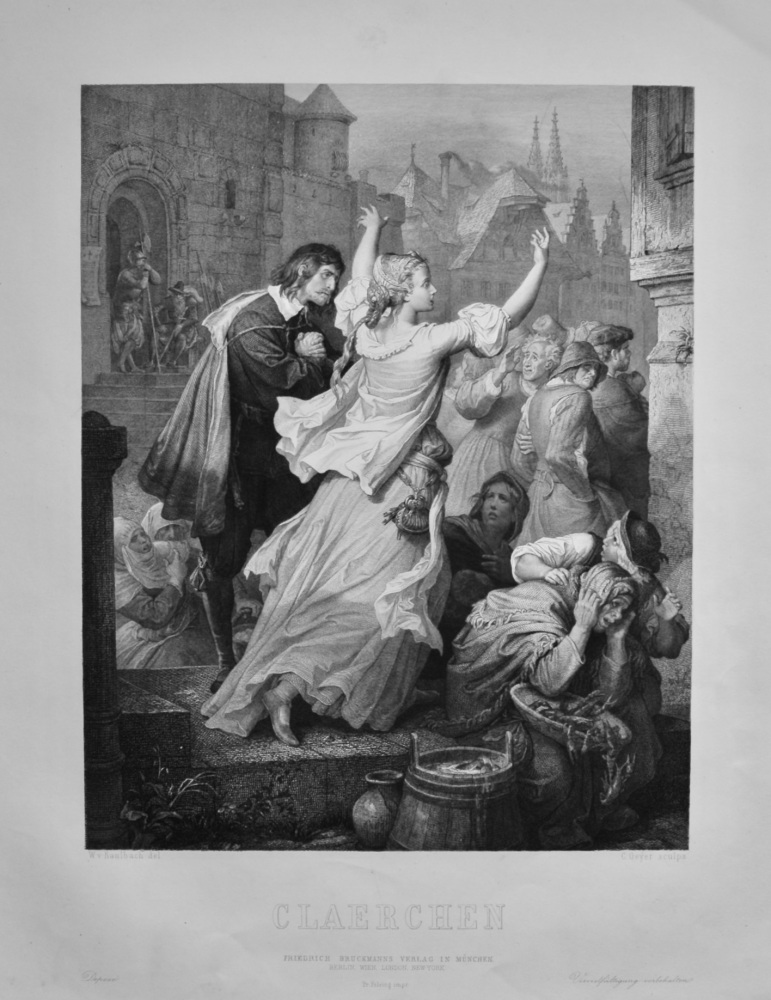 Claerchen.  1860c.