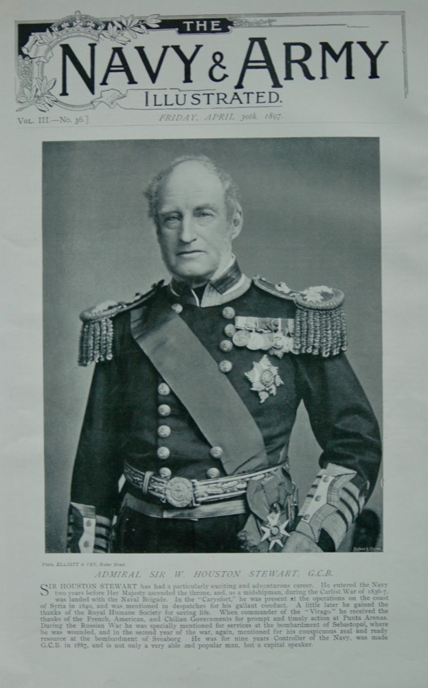 Admiral Sir W. Houston Stewart - 1897