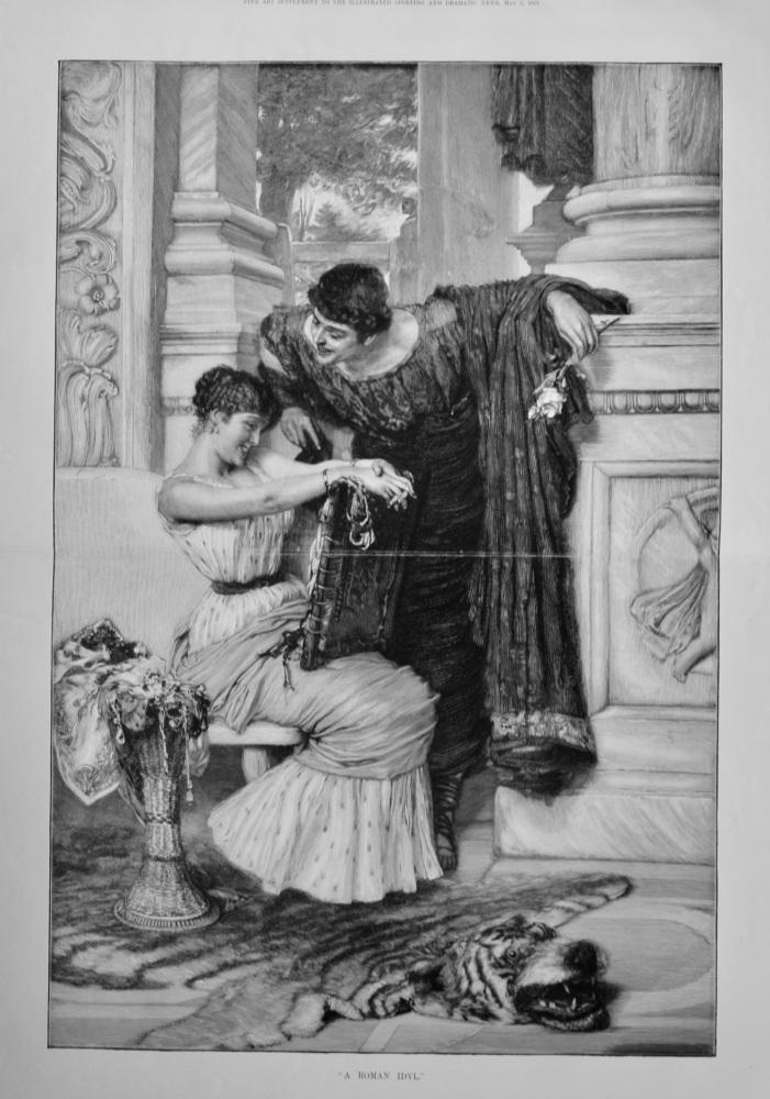"""""""A Roman Idyl.""""  1891."""