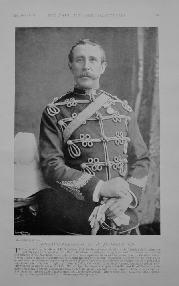 Brigadier General P D Jeffreys - 1897