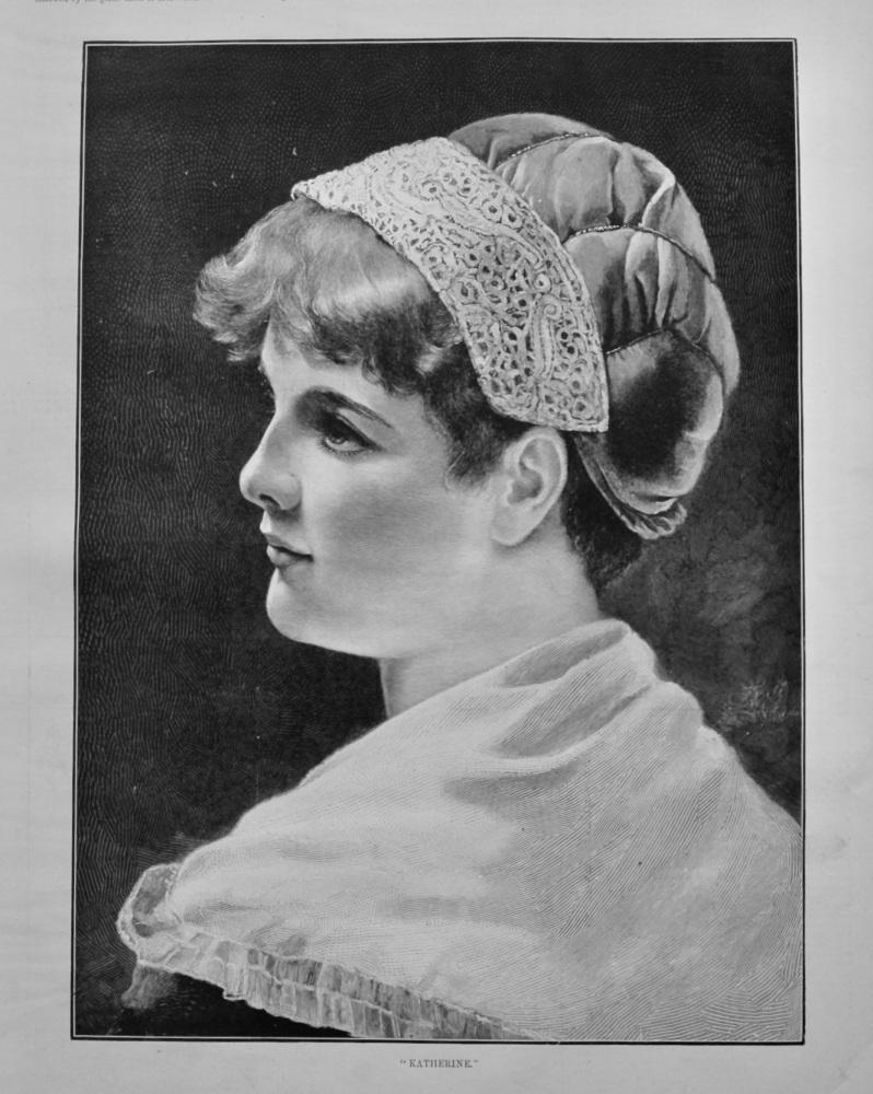 """Katherine.""  1891."