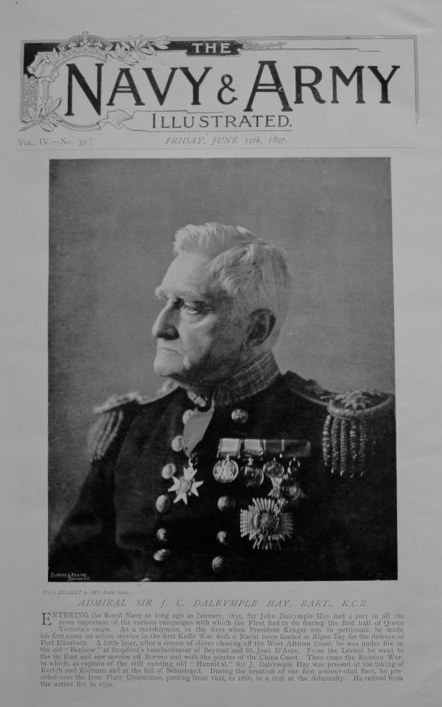 Admiral Sir J. C. Dalrymple Hay - 1897