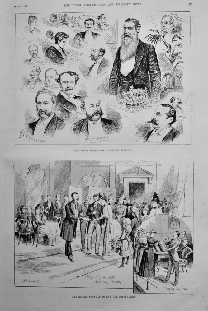 Royal Society of Musicians' Festival.  1891.
