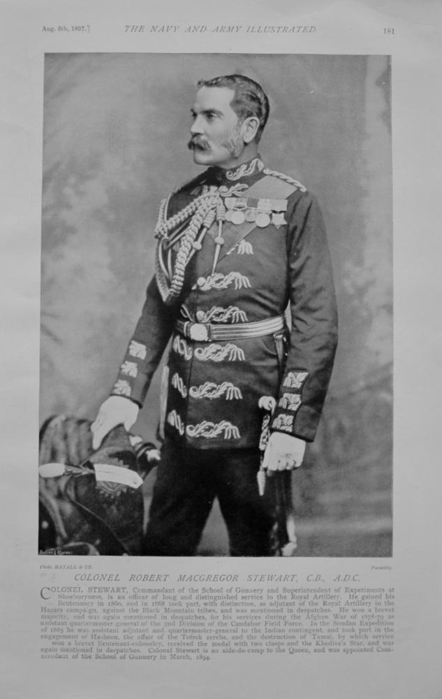Colonel Robert MacGregor Stewart - 1897