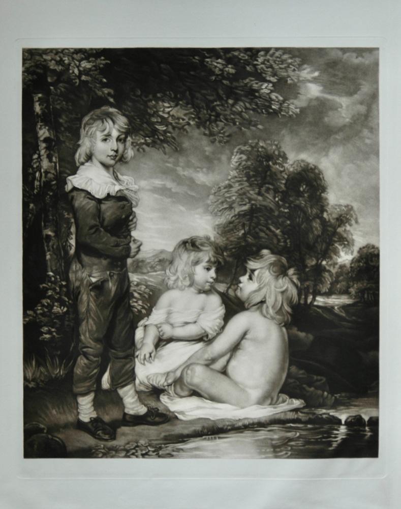 Children Bathing  (Hoppner Children)