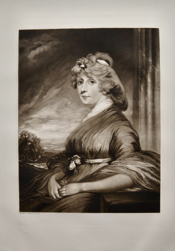 Mrs Hibbert.  (Mezzotint)