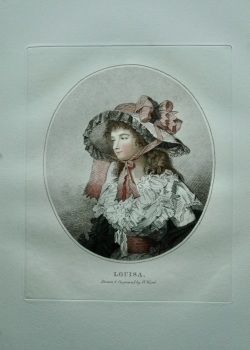 Louisa.  (Colour Mezzotint).