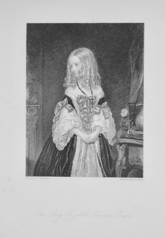 Lady Elizabeth Leveson Gower.