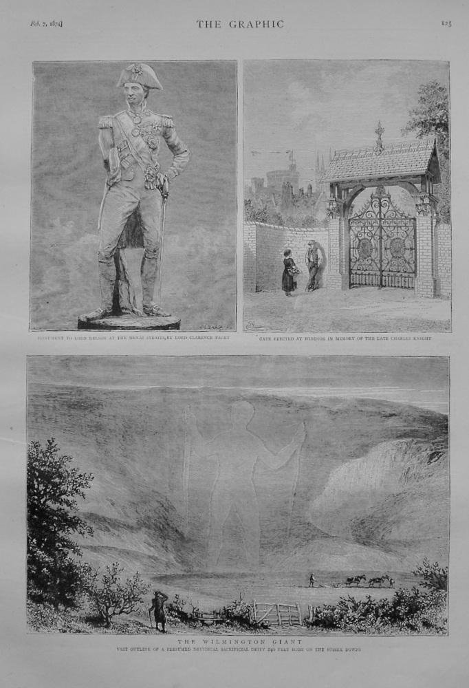 The Wilmington Giant - 1874