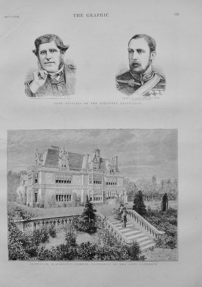 Aldworth House, Blackdown - 1874