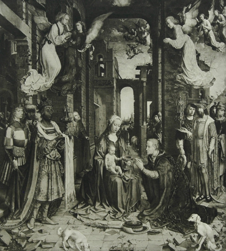 """Adoration of the Magi"" - Photogravure - 1903"
