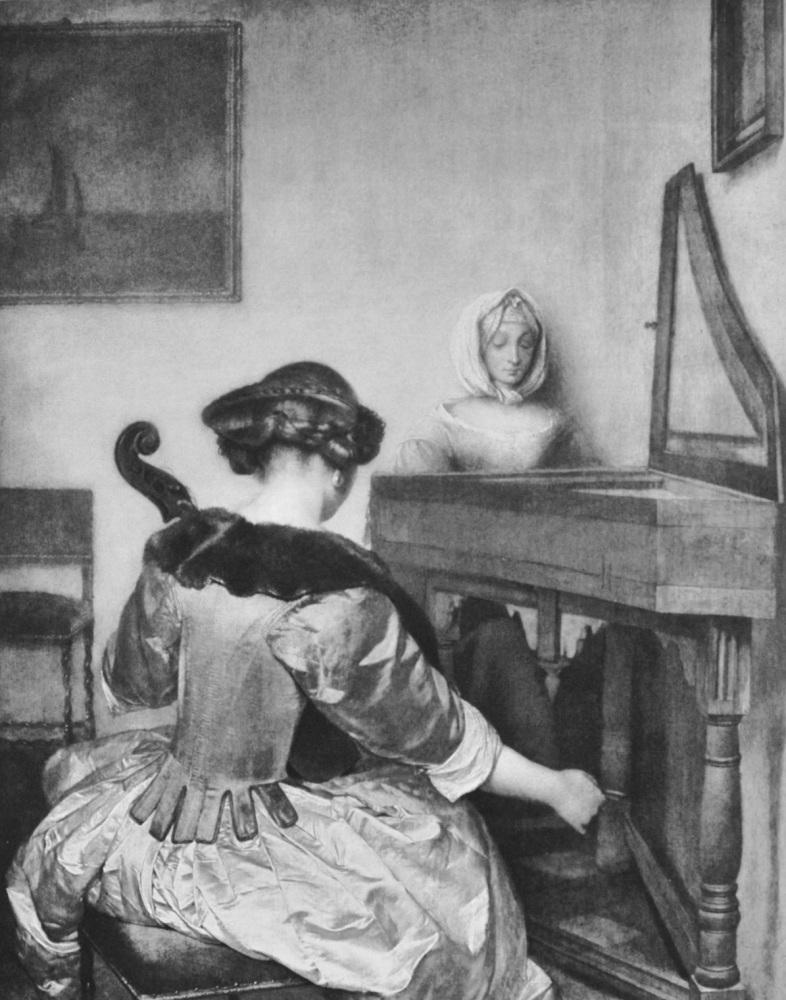 """""""A Duet"""" - Photogravure - 1903"""
