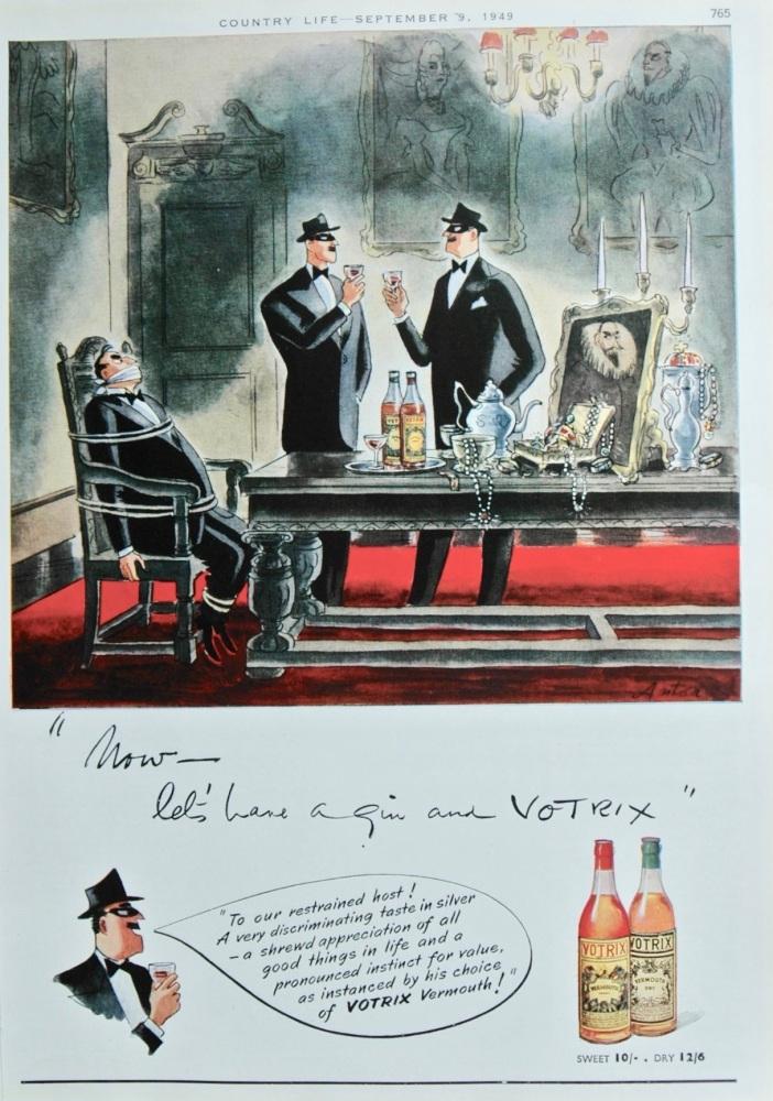 """Votrix"" advert - 1949"