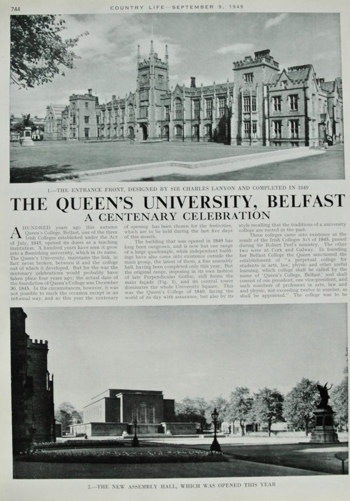 The Queen's University, Belfast - 1949