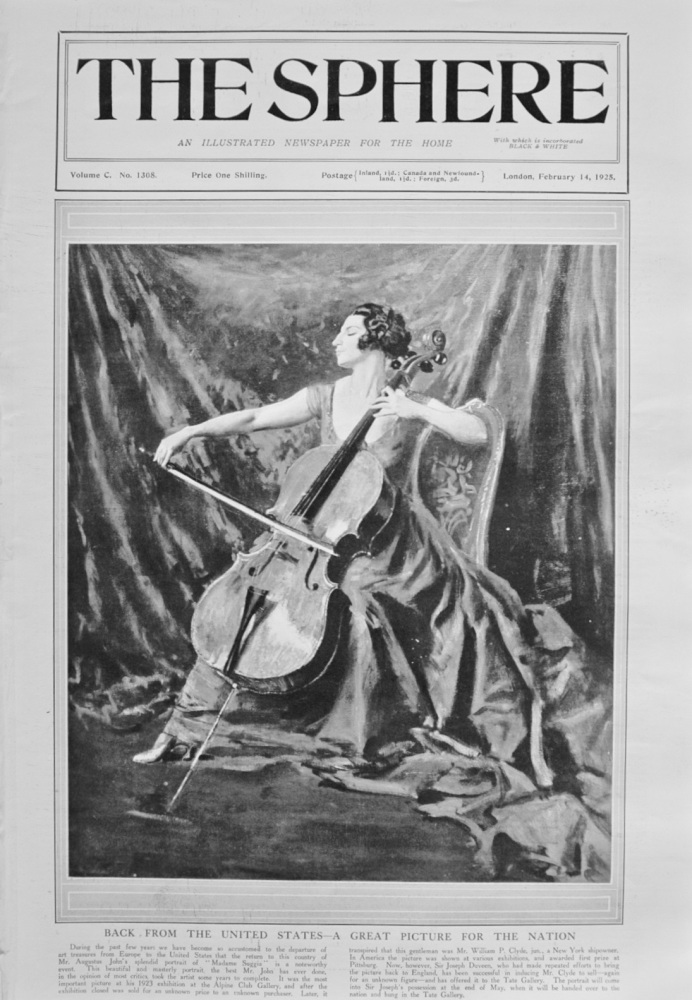The Sphere - February 14, 1925