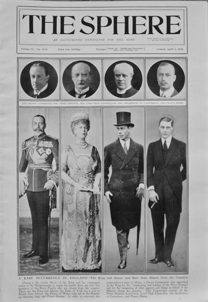 The Sphere, April 4, 1925