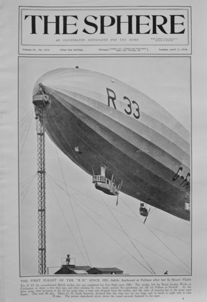 The Sphere - April 11, 1925