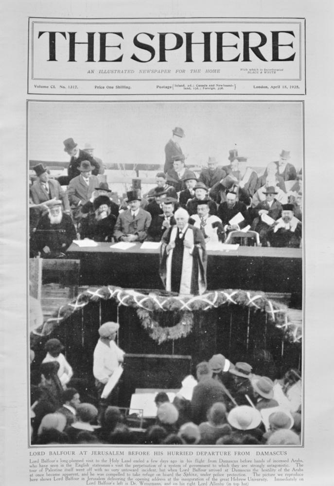 The Sphere - April 18, 1925
