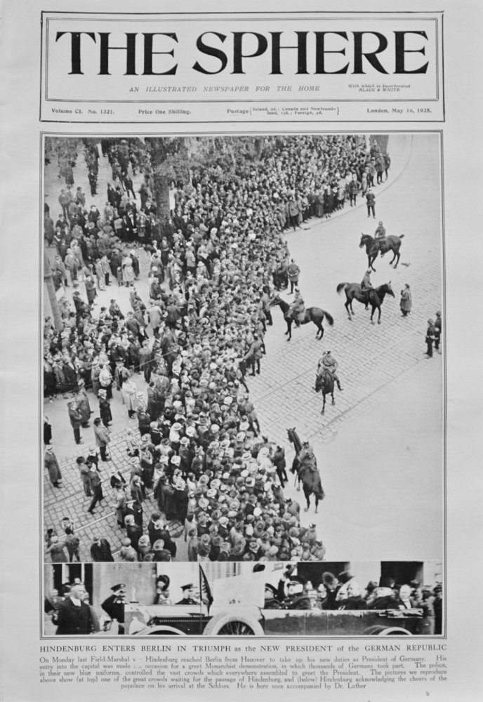 The Sphere - May 16, 1925