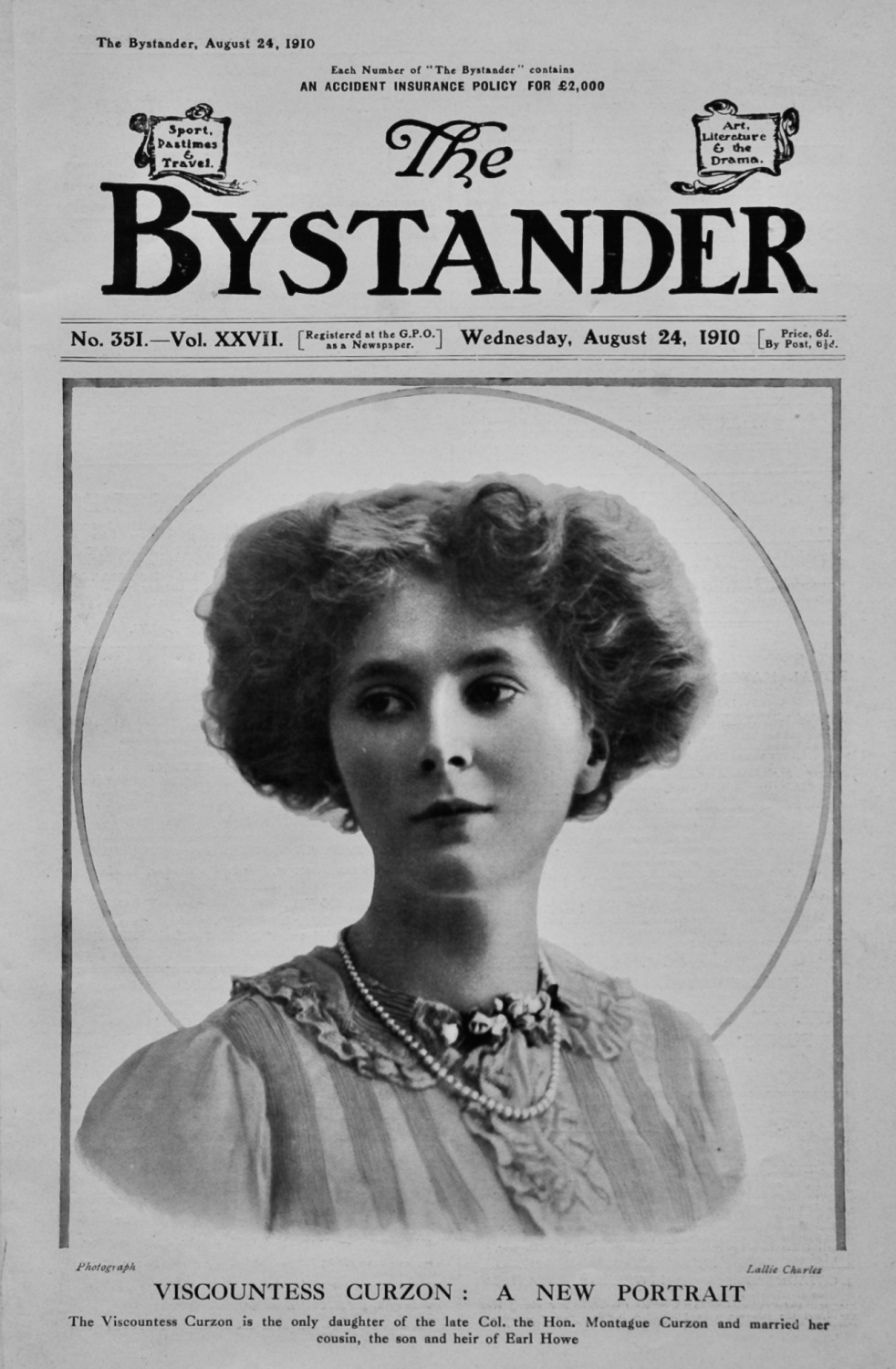 The Bystander Aug 24th 1910.