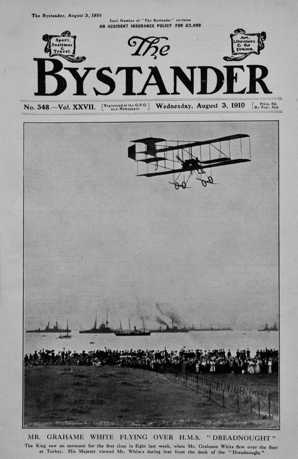 The Bystander Aug 3rd 1910.
