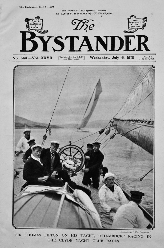 The Bystander Jul 10th 1910.