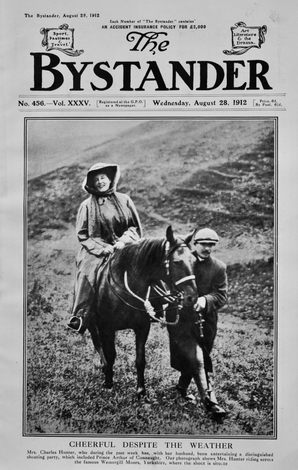 The Bystander August 28th 1912.
