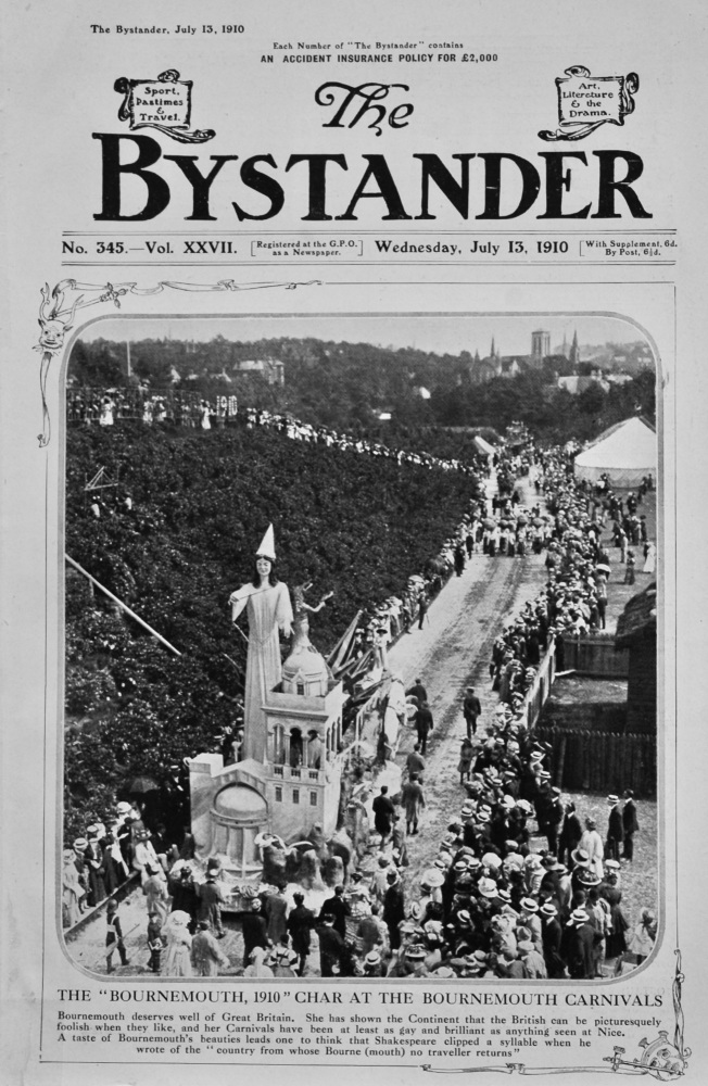 The Bystander Jul 13th 1910.