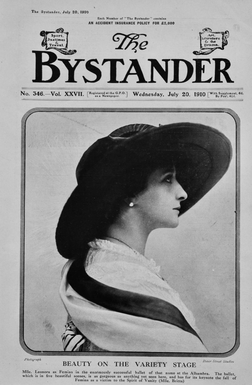 The Bystander Jul 20th 1910.