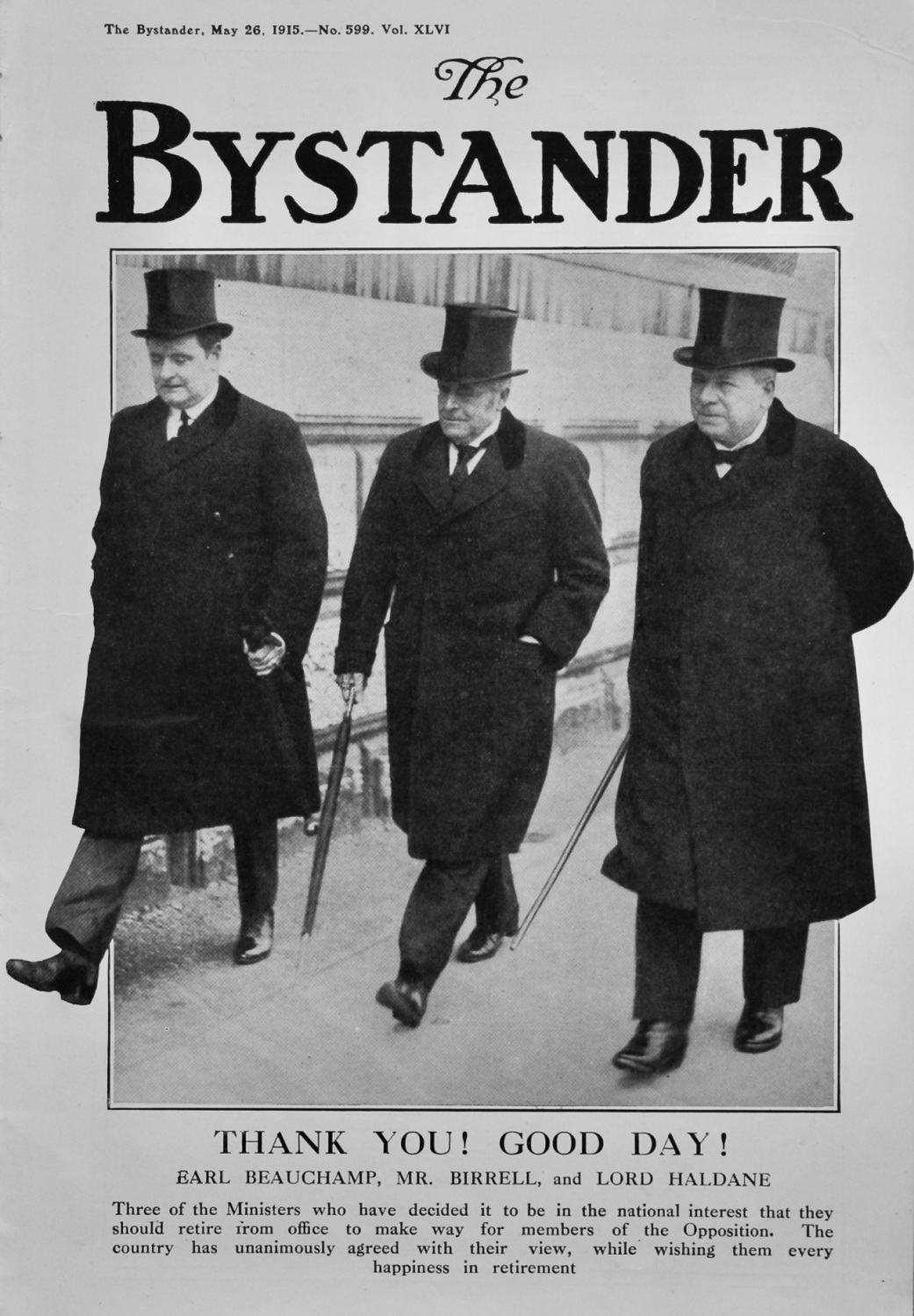 The Bystander May 26th 1915.