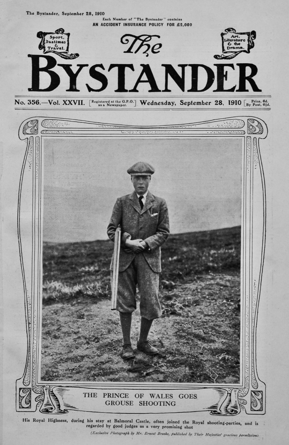 The Bystander Sept 28th 1910.