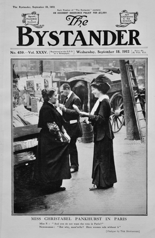 The Bystander September 18th 1912.