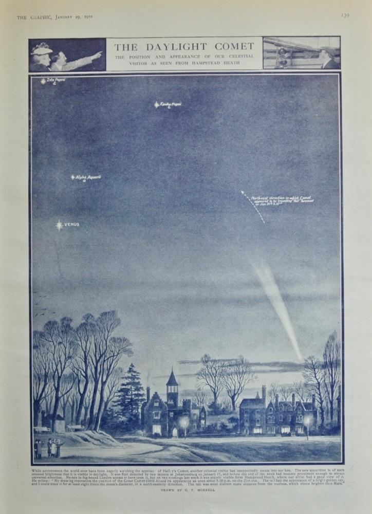 The Daylight Comet - 1910