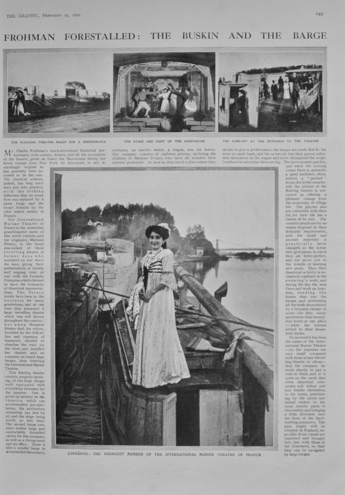 Frohman Forestalled: The Buskin and the Barge - 1910