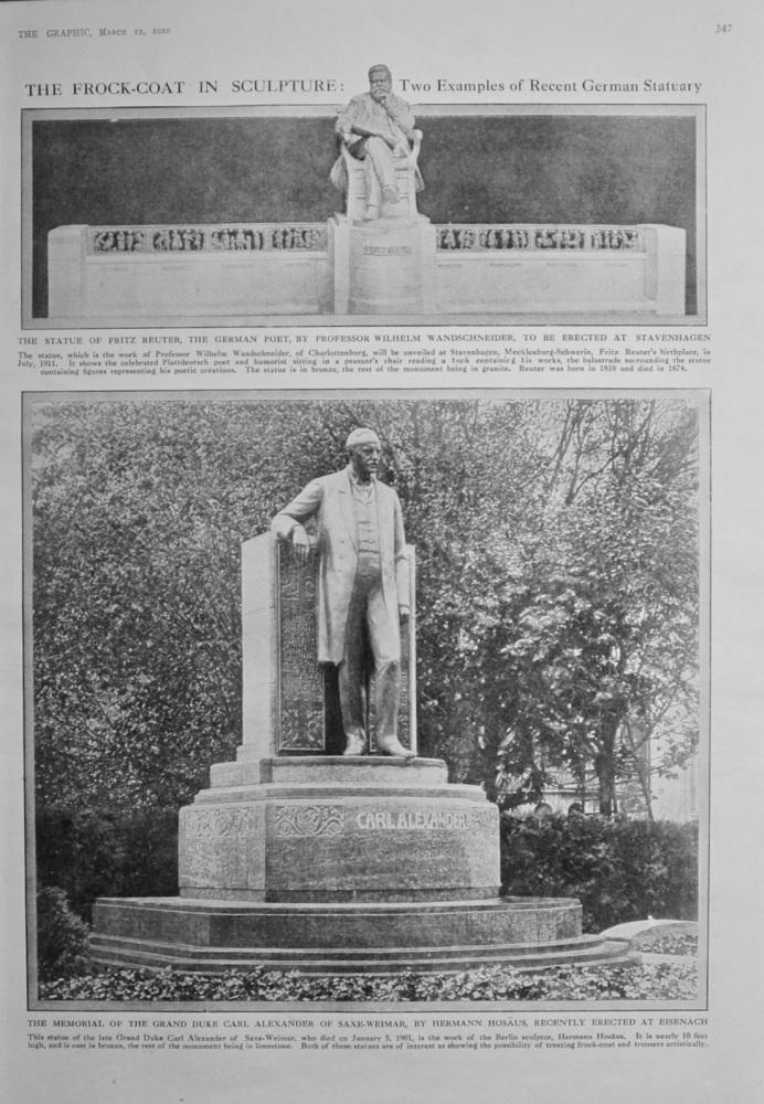 The Frock-Coat in Sculpture - 1910