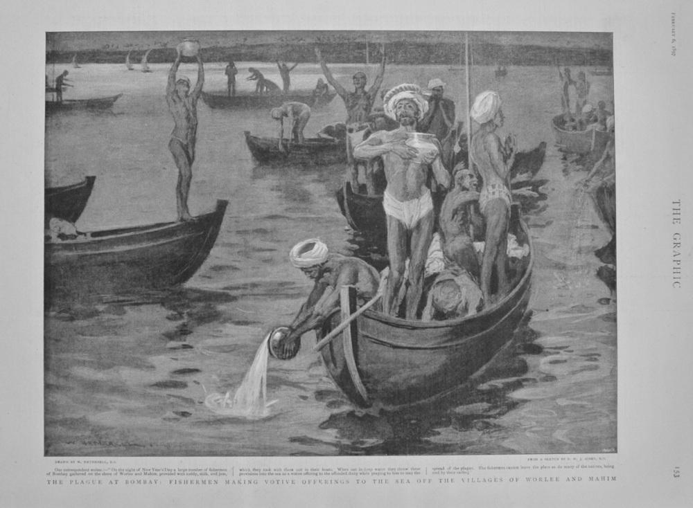The Plague at Bombay - 1897