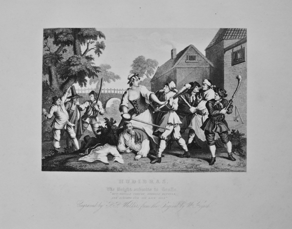"""Hudibras - The Knight submits to Trulla"" - c1870"