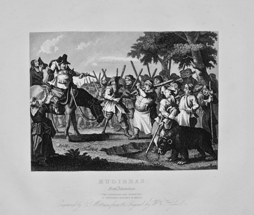 """Hudibras - The First Adventure"" - c1870"