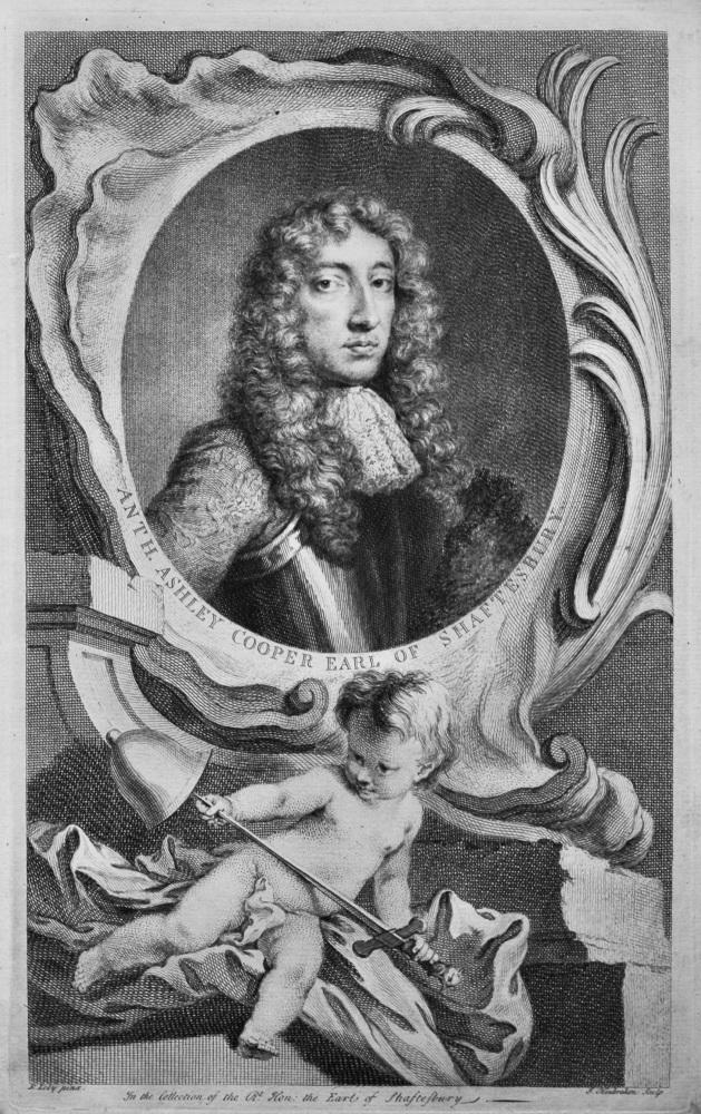 Anth. Ashley Cooper Earl of Shaftesbury.