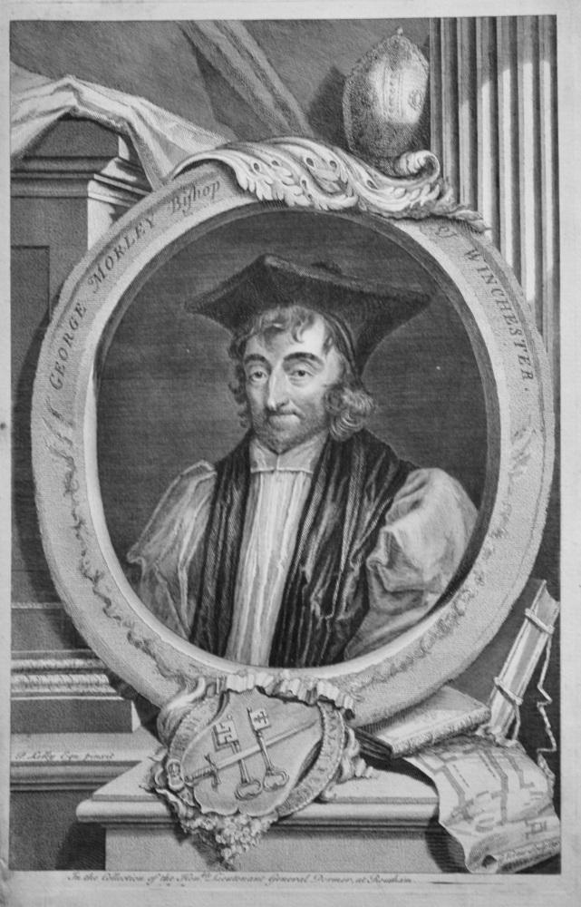 George Morley  Bishop of Winchester.