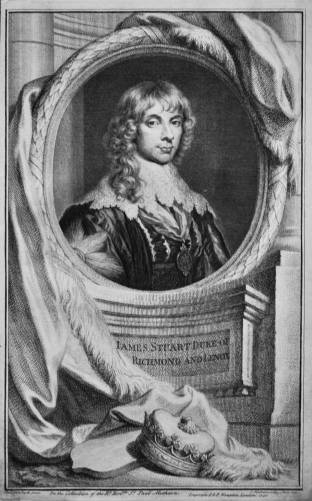James Stuart  Duke of Richmond and Lenox.